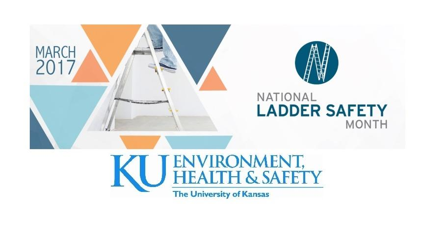 March is National Ladder Safety Awareness Month