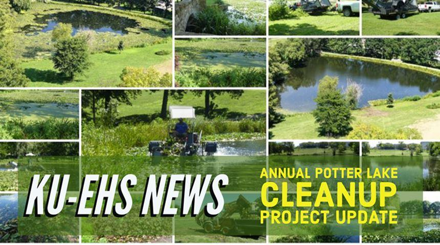 Annual Potter Lake Project Update - Click for Story